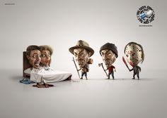 Advertisement by Propeg, Brazil