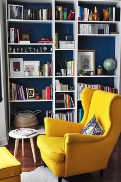 Se créer un coin lecture – Schwarzes Konfetti – Home Office Design Diy Home Library Design, Home Office Design, Home Office Decor, Home Decor, Office Ideas, Office Designs, Office Table, Home Libraries, Home And Living