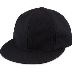 817da358dda EBBETS FIELD FLANNELS Custom Basic wool snapback cap (105 CAD) ❤ liked on  Polyvore