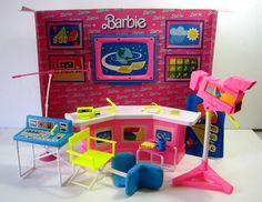 Barbie 6 O'Clock News Play Set by Arco Toys, 1986