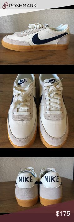info for 3b66e 879a9 Crew x Nike Killshot 2 Leather Brand new J. Crew x Nike Killshot 2 Leather  size 10 sail midnight navy- gum yellow Nike Shoes Sneakers