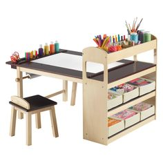 Have to have it. Guidecraft Deluxe Art Center - $349.98 @hayneedle