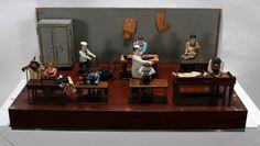 Tailoring Factory Diorama.