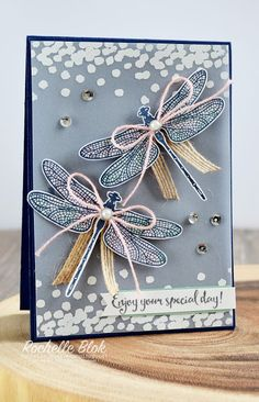 The Stamping Blok: Just Add Ink #336 | Just Add a Colour Combo | Dragonfly Dreams