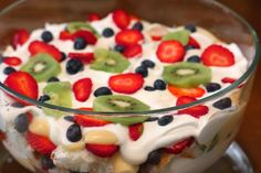 January 19th, Party Food: Poor Man's Trifle.