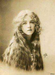 Красивое старое фото актриса Ione Bright  фото Rudolf Eickemeyer Jr. (1912)  фото, ретро, история, девушки, красивое