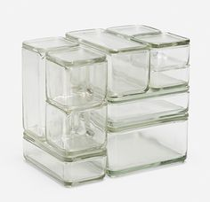 Art Decó Kubus Stacking Containers (c.1938) Germany