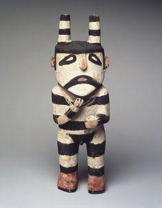 Koshare Kachina Doll (Paiakyamu) http://www.brooklynmuseum.org/opencollection/objects/129317/Kachina_Doll_Paiakyamu#