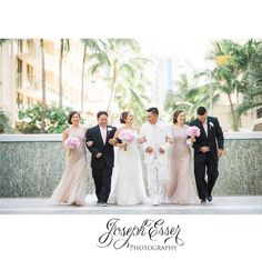 Bring your bridesmaids and groomsmen to the #hawaiibridalexpo July 28-30 at the blaisdell @bridesclub