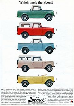 1964 Scout International Advertising Sports Afield March 1964