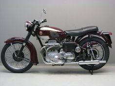 Ariel 1954 G4 MK2 SOLD Frame no KR 319.   Engine no XJ358.