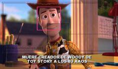 muere creador de woody de toy story a los 83 anos - Categoria: VideoJuegos  Uno de los mAs longevos de Pixar, ha muerto a los 83 aAos. Muere Bud Luckey, el creador de Woody de Toy Story. En el proceso de creaciAn de Woody, Bud Luckey contA que en su momento llegA a realizar un aproximado de 200 bocetos hasta finalmente dar con el diseAo final que todos conocemos. PequeAos y grandes pueden estar de acuerdo en algo y es que Woody es un vaquero que ha marcado la infancia de muchos, el popular…