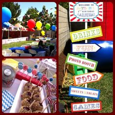 carnival Birthday Party Ideas | Photo 8 of 24 | Catch My Party