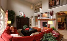 Get inspired by great living rooms in newly built homes. Start Fresh, Buy New