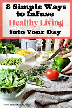 Overcome obstacles to healthy living with these simple tips to implement. Learn how to streamline life with these valuable & easy habits. via /heidinaturally/ Healthy Salads, Healthy Habits, Healthy Eating, Healthy Recipes, Healthy Drinks, Healthy Food, Cooking Photos, Healthy Lifestyle Changes, Health Tips
