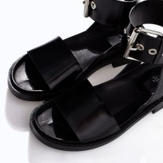 Image 4 of BIO WITH ANKLE STRAP AND BUCKLE from Zara