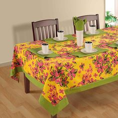printed rectangle table-2410