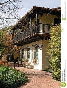 Spanish Style Architecture - Download From Over 64 Million High Quality Stock Photos, Images, Vectors. Sign up for FREE today. Image: 4632613