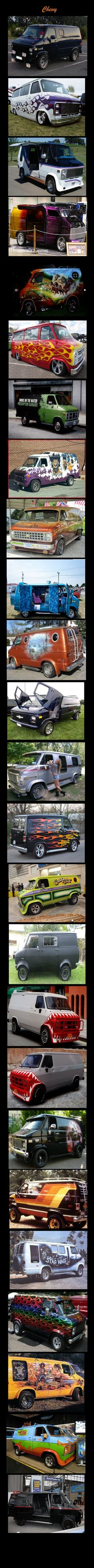 small resolution of chevy duggy doo jstyle355 astro van