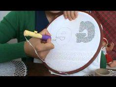 PANÇ nakışında HARF KALIBI çıkarma nasıl olur? KENDİN YAP - YouTube Punch Needle Patterns, Crochet Patterns, Hand Embroidery, Coloring Pages, Needlework, Free Pattern, Diy And Crafts, Stencils, Creations