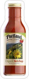 Portlandia Ketchup, Organic, Made in Portland, Oregon by the PORTLAND KETCHUP COMPANY (O / USA)