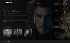 Hbo go redesign show