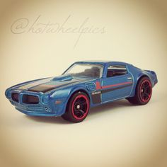 "'73 Pontiac Firebird - 2016 Hot Wheels ""Muscle Mania"" #hotwheels   #diecast   #toys   #hwp2016ml"