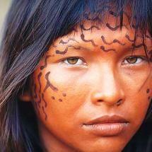 Indigenous Girl, Mato Grosso do Sol, Brazil