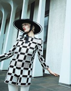 Aymeline Valade by Emma Summerton for Vogue Japan February 2013