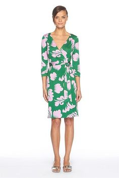 Crushing on this for when I return to work from maternity leave. What's not to love about DVF wrap dresses?!!