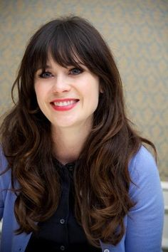 Zooey Deschanel. She is so beautiful.