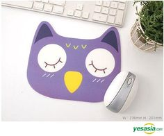 Zoo Mouse Pad - Owl