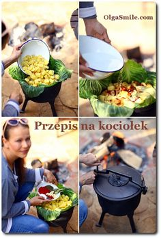 Przepis na kociołek Bbq Grill, Grilling, Yummy Mummy, Polish Recipes, Bon Appetit, Food And Drink, Menu, Table Decorations, Diet