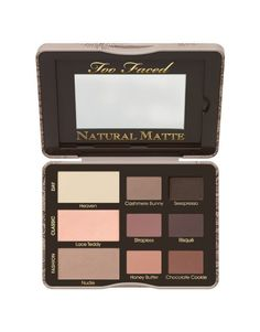 Too faced natural matte eyeshadow palette ♡ love this! One of my favs in my makeup kit