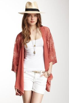 Calypso St. Barth Tatiana Cardigan by Non Specific on @HauteLook (Love the cardigan, do not love the clothes the model has on with it)