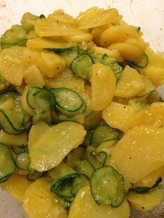 Bayrischer Kartoffelsalat, Familienrezept | Vorspeisenplatte