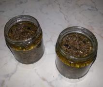 Condimento alle olive per la pasta