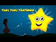 Suomen lastenlauluja   Tuiki tuiki tähtönen + 15 min - YouTube Folk Music, Twinkle Twinkle, Children, Kids, Pikachu, Youtube, Fictional Characters, Young Children, Young Children