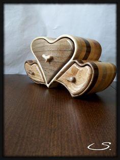 Wooden Handmade Jewelry Box by svetli79 on etsy