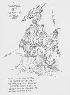 A Hammerhead Goblin of the Stone Clan