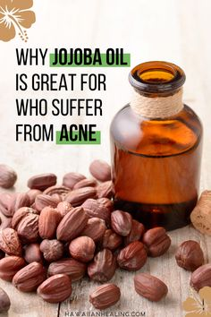 Why Jojoba Oil is great for who suffer from Acne or folliculitis. Add this natural oil to your natural beauty routine. Organic Beauty, Organic Skin Care, Natural Skin Care, Natural Beauty, Vitamin E, Beauty Oil, Concealer, Best Skincare Products, Beauty Products