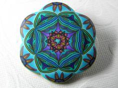 Millefiori Kaleidoscope Rising Sun Brooch by DedeLeupold on Etsy, $39.00