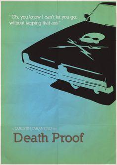 Death Proof minimal Poster