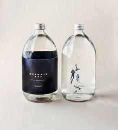 บรรจุภัณฑ์ขวดแก้วสวยๆจาก Mermaid Bay จาก Bunjupun.com