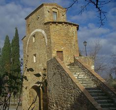 San Quirico d'Orcia - Mura Rotte, San Quirico d' Orcia , Italy, province of Siena Tuscany