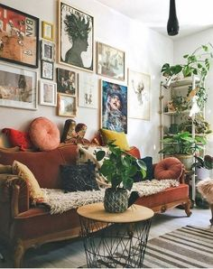 Eclectic Living Room Designs Incorporating Beautiful Mix of Interior Arts - Most creative decoration list Home Living Room, Eclectic Living Room, Room Design, Home, Bedroom Design, Room Inspiration, House Interior, Living Decor, Home And Living