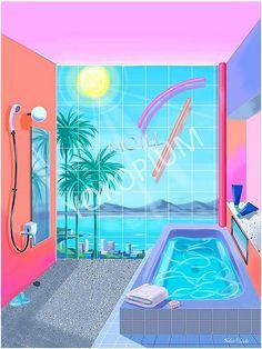 *0s Inspired Illustrations -by Yoko Honda