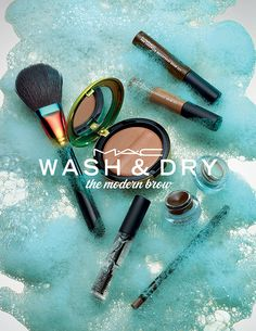MAC Wash & Dry Collection - the modern brow