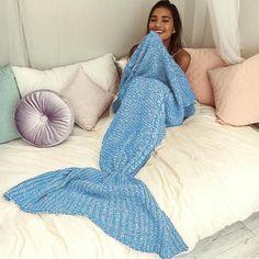 The Amazing Mermaid Blanket - w/ Free Shipping!