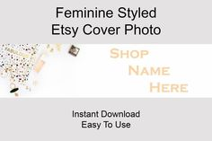 By purchasing this listing you will receive a 3360x840 pixels styled Etsy Banner stock photo.High resolution (300 DPI).  Don't have the proper camera and props for shooting a nice Cover Photo? You wan't to focus on creating your products instead of creating marketing materials to your Etsy Shop?I'we got you covered!  Click to find more Etsy Shop Banner Styles! Branding Materials, Marketing Materials, Media Marketing, Etsy Business, Business Tips, Christmas Desktop, Invitation Mockup, Etsy Seo, Wedding Save The Dates